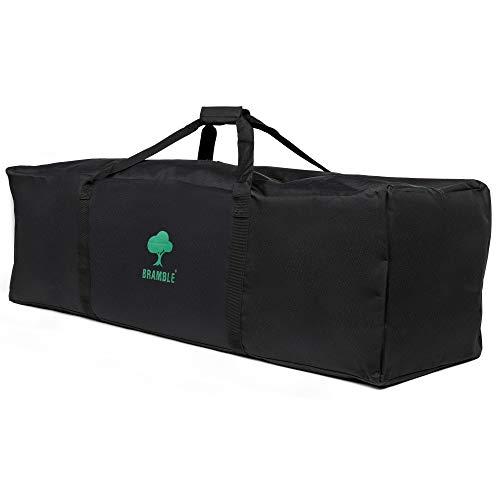 Universal Bolsa de Transporte de Cochecito, 112x31cm| Bolsa de Cochecito de Viaje, Carrito Bebe| Poliéster 600D Premium| Protección para Viaje, Avión Gate Check o Almacenamiento.