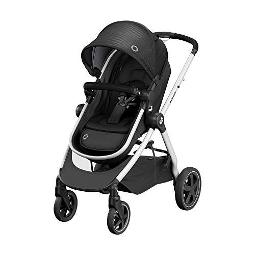 Maxi-Cosi Zelia² Cochecito 2 en 1, apto desde el nacimiento, 0 meses - 4 años, 0-22kg, Essential Black (negro)