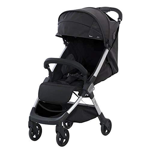 SHOM 1032001400218/LED01 - Silla de paseo ligera para niños shom led, unisex, color anthracite black