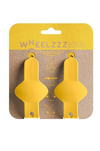 Wheelzzz Duo Emma Yellow. Ayuda a dormir a tu bebé en su carrito, con un ligero traqueteo. Estés donde estés.