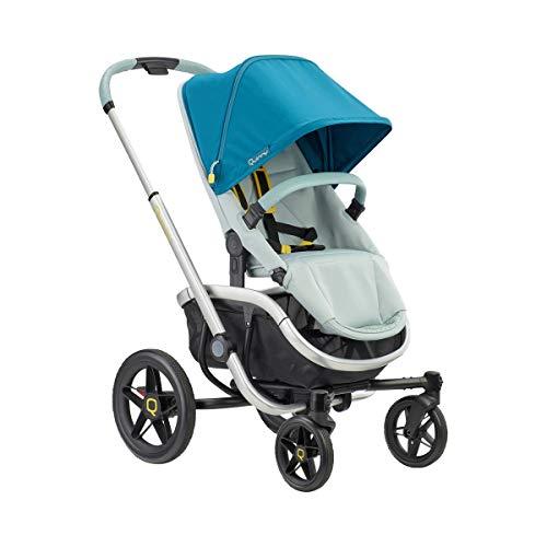 Quinny VNC Carrito bebé reversible y reclinable posición para dormir desde nacimiento, manillar regulable en altura, plegable con una sola mano, color Grey Twist