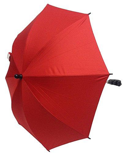 Bebé Sombrilla Compatible con Bebecar carrito para cochecito de bebé, color rojo