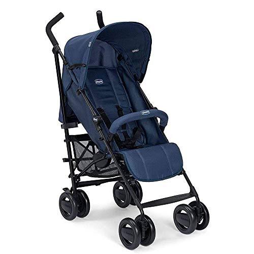 Chicco London - Silla de paseo ligera, solo 7.2 kg, compacta y manejable, color azul (Blue Passion)