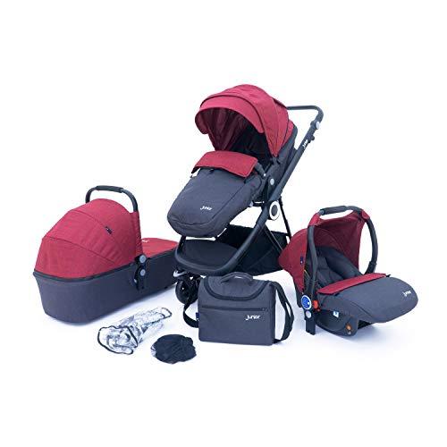 Petex - Carrito de bebé rojo