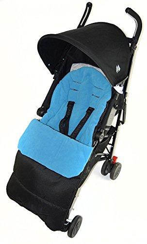 Saco/Cosy Toes Compatible con carrito Easywalker océano azul