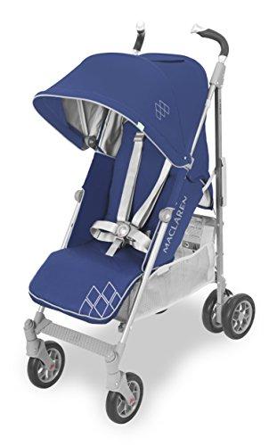 Maclaren Techno XT, Silla de paseo ligero para recién nacidos hasta los 25 kg, Asiento multiposición, suspensión en las 4 ruedas, Capota extensible con UPF 50+