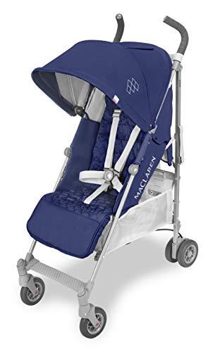 Maclaren Quest, Silla de paseo para recién nacidos hasta los 25 kg, asiento multiposición, suspensión en las 4 ruedas, capota extensible con UPF 50+