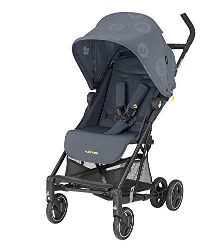 Maxi-Cosi Mara Cochecito de 0 meses a 22 kg, plegable y ligero 6.7 kg, reclinable con posición para dormir, plegado compacto, color brave graphite