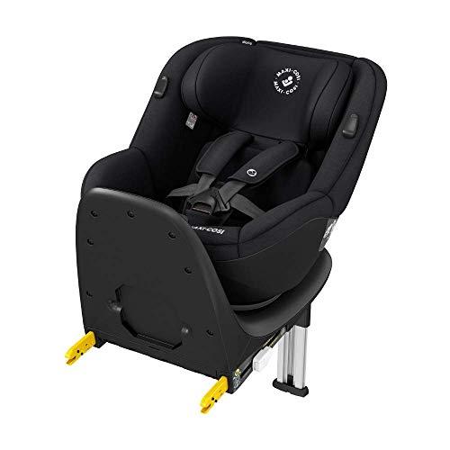 Maxi-Cosi Mica Up, silla de coche giratoria 360° Isofix, silla auto reclinable y contramarcha, desde 4 Meses aprox hasta 4 años, 61-105Cm, 18Kg, Black (Negro)
