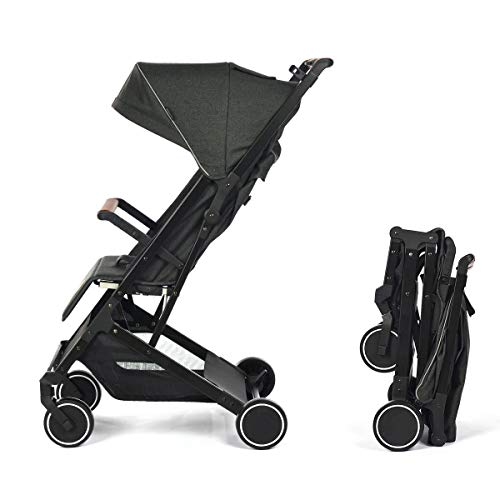 Silla de Paseo Star Ibaby Air Plus/Reclinable con barra de Seguridad - Ligera 6 kg