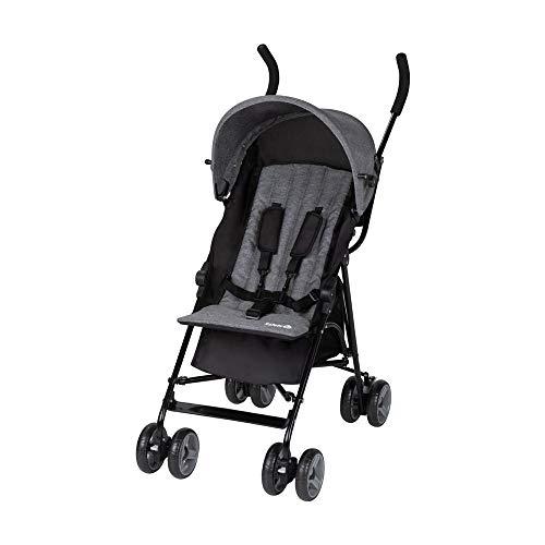 Safety 1st Kiplo, silla de paseo compacta, silla de paseo ligera, para uso desde el nacimiento hasta los 3 años aproximadamente, Black Chic