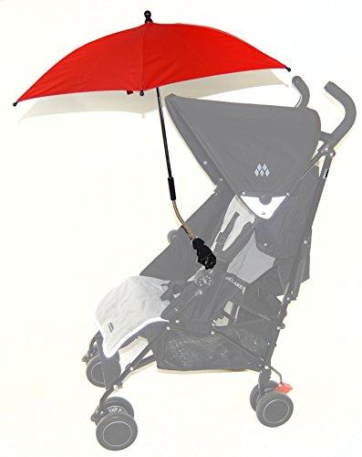 Bebé Sombrilla Compatible con Cosatto Giggle Woop Ooba rojo