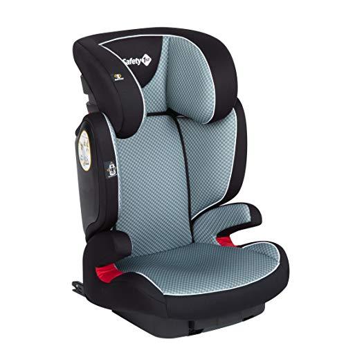 Safety 1st Road Fix Silla Coche Grupo 2 3 Isofix, crece con el niño 3-12 años (15-36 kg), Protección lateral segura, Ajuste fácil y seguro, color Pixel Grey