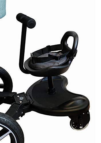 Tablero de buggy con asiento Orgullo paterno Kiddyboard Tablero de correr para cochecitos Tablero de rodar Buggyboard (tablero con asiento)
