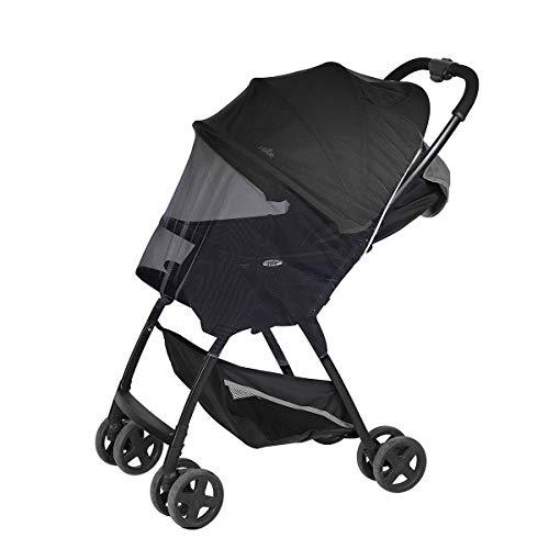Sekey Mosquitera para capazo, silla de paseo, cuna de viaje y Cochecito, universal Red anti insectos, Mosquitera Carrito Bebé, Negro