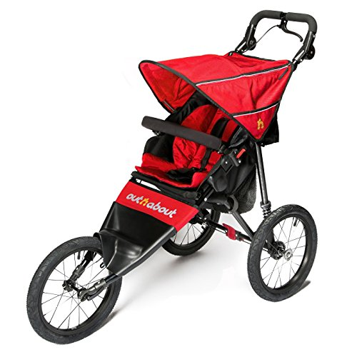Out 'N' About Nipper Sport Stroller V4 - Carnival Red