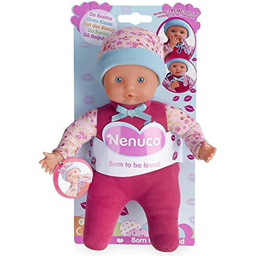 Nenuco de Famosa Da Besitos, muñeca bebé con Sonidos, para niñas y niños a Partir de 10 Meses (Famosa 700014775)