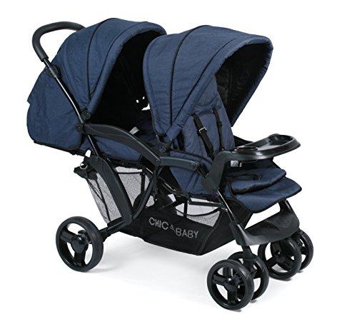 CHIC 4 BABY 273 52 Doppio - Carrito convertible, color azul