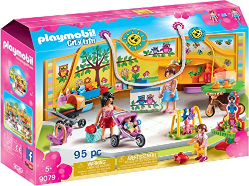 PLAYMOBIL City Life Tienda para Bebés, a Partir de 5 Años (9079)